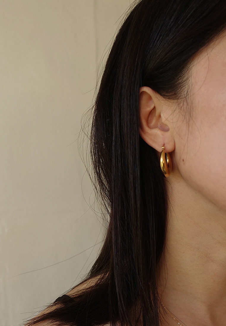 Gabrielle Hoop Earrings
