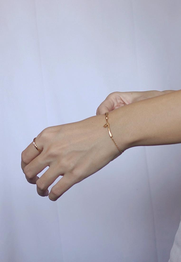 Rose Slider Bracelet